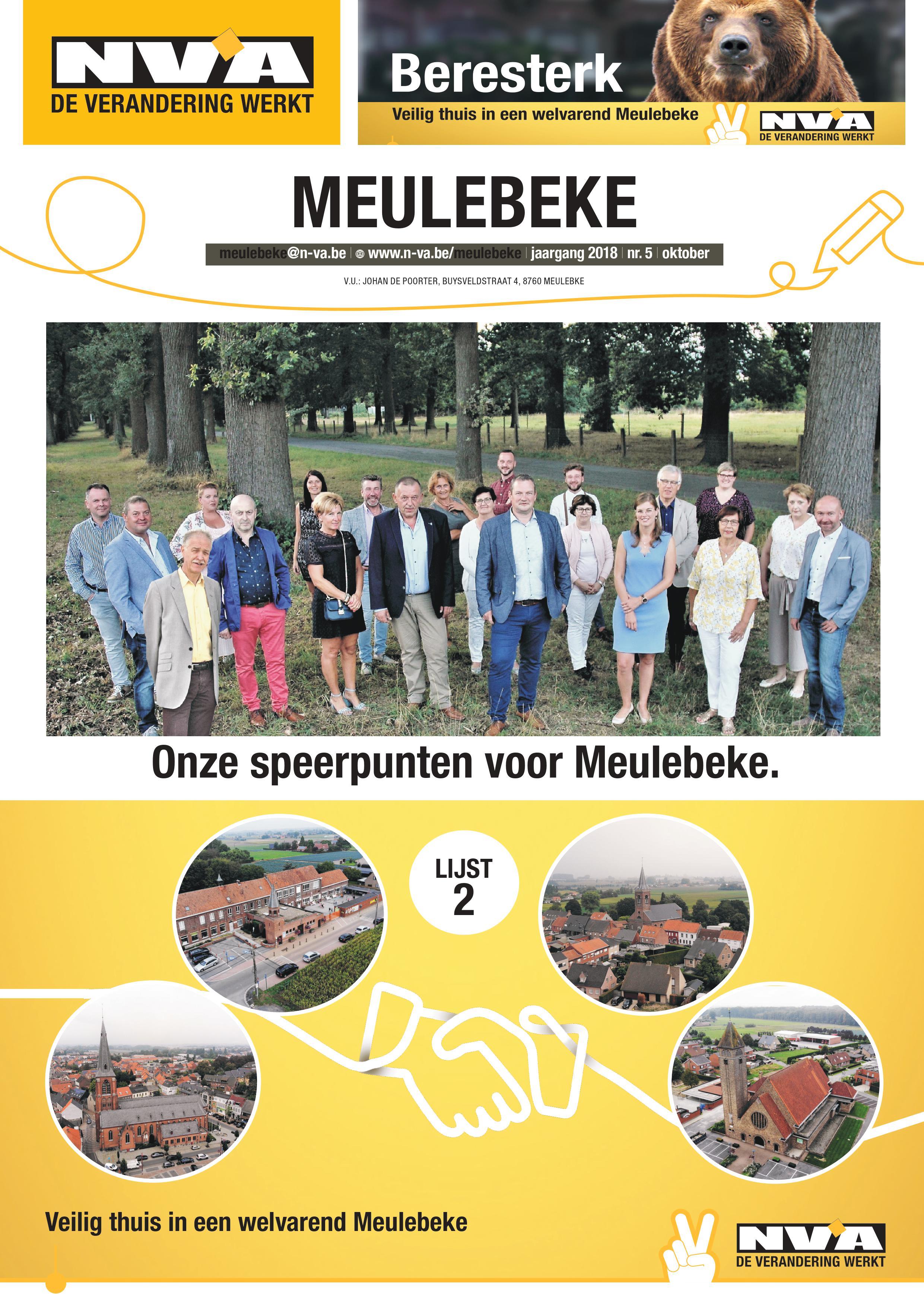 Onze speerpunten voor Meulebeke Pg1