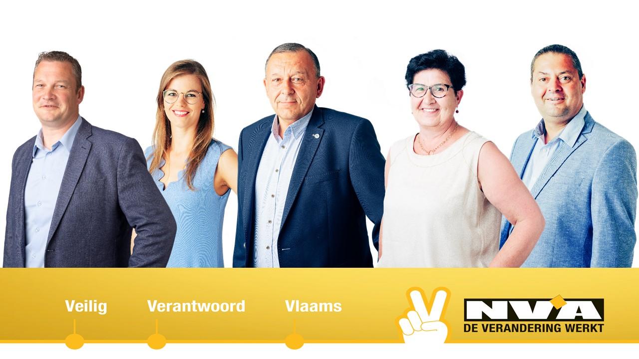 5 gemeenteraadsleden van N-VA Meulebeke