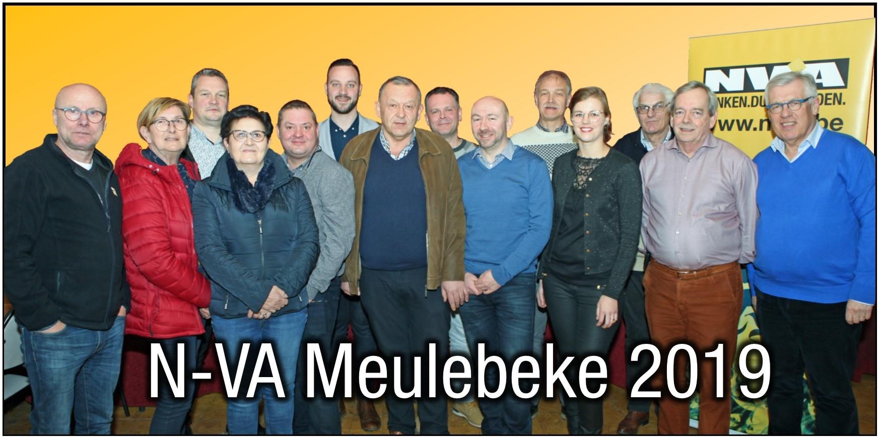 N-VA Meulebeke kiest nieuw bestuur.