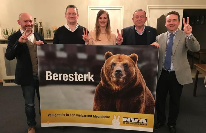 N-VA Meulebeke gaat met beresterk team naar de verkiezingen