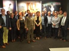 Johan voorzitter van het arrondissementeel bestuur van Kortrijk - Roeselare -tielt