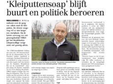 Kleiputtensoap' blijft buurt en politiek beroeren