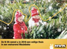 N-VA Meulebeke wenst jullie prettige feestdagen