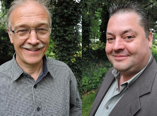 Herman Vanhee en Tom Wattijn