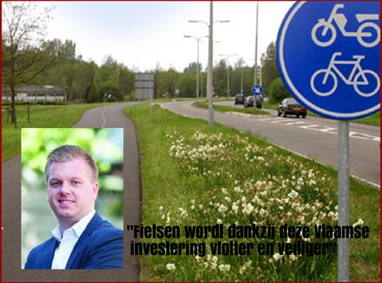"""""""41.500 Euro voor nieuwe fietsinfrastructuur in Meulebeke """""""