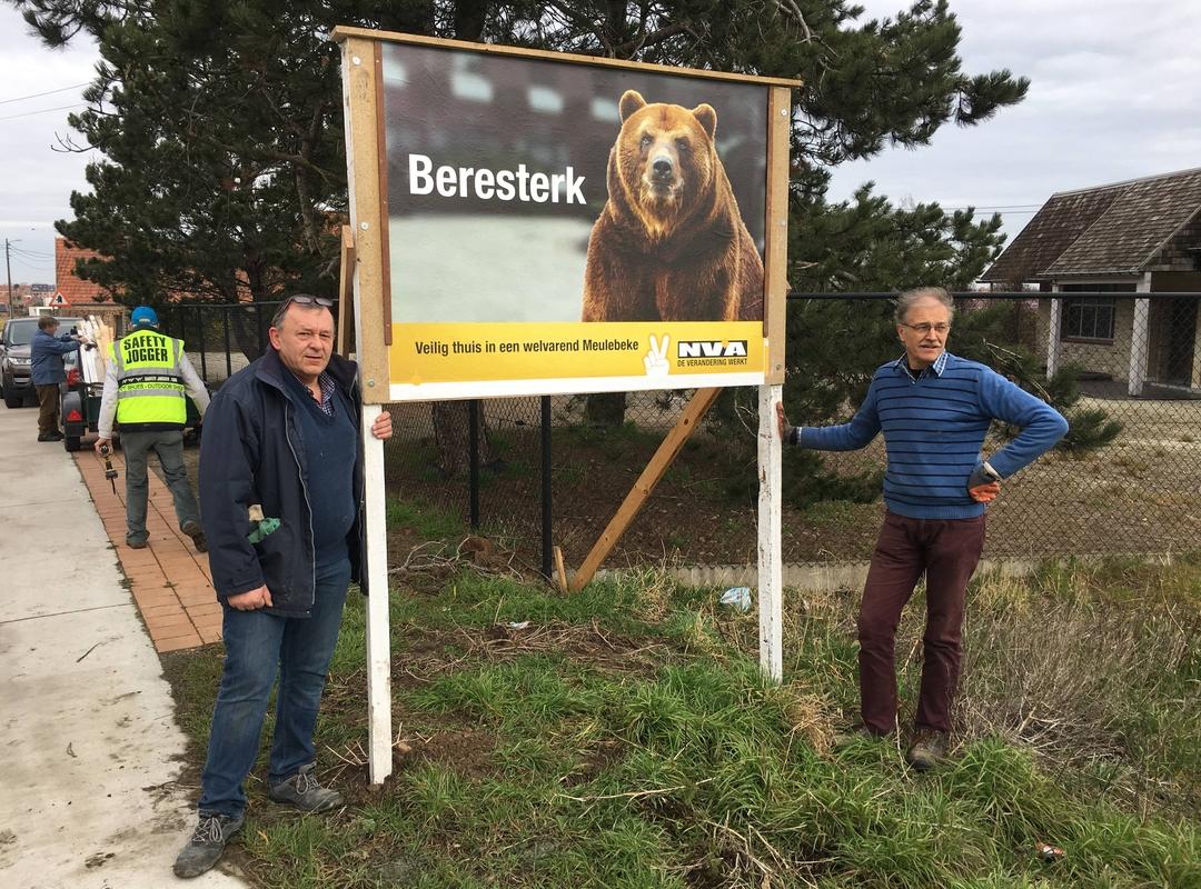 precampagne Beresterk N-VA Meulebeke