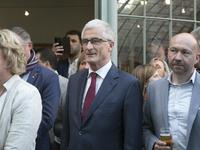 Samen met Minister President Geert Bourgeois en De Poorter Johan